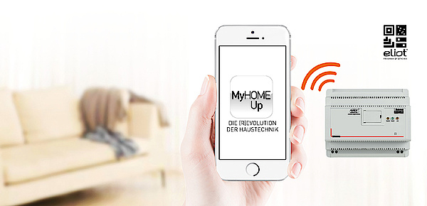 MyHOME / MyHOME_Up bei Elektro Mayer in Flintsbach